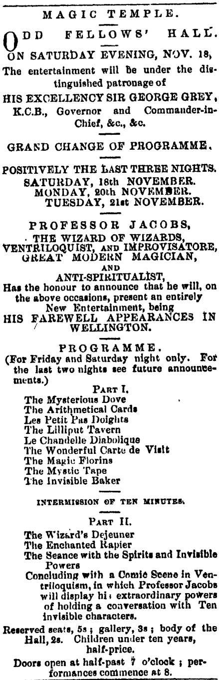 Evening Post 18111865