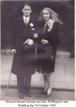 Jane and Howard SAMUEL wedding photo 26 Oct 1944 annotated.jpg
