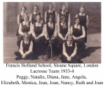 Francis Holland School Lacrosse Team 1933-4 Annotated.jpg